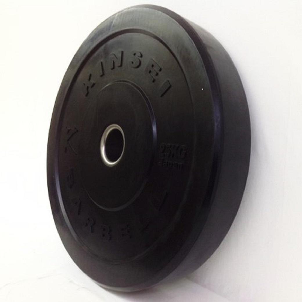 バンパープレート25kg(2枚セット)