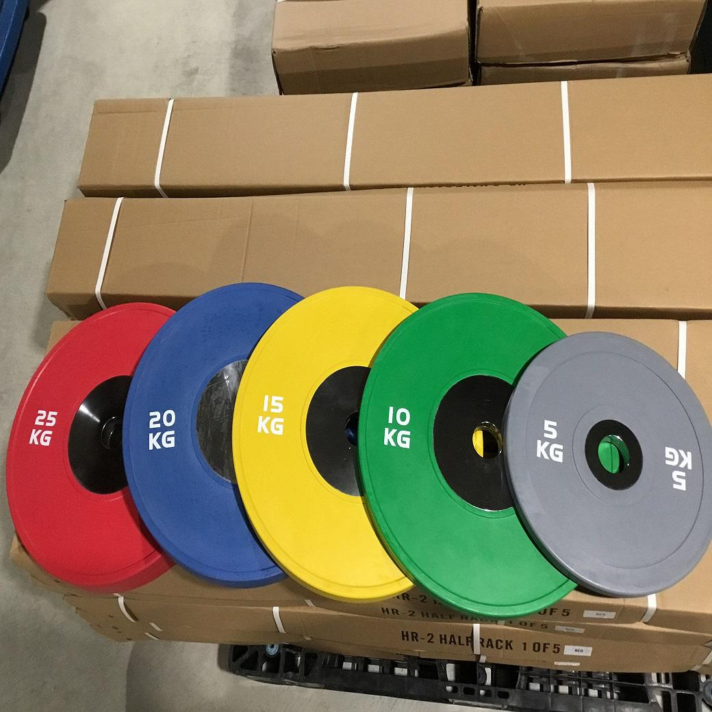Olympic Bumper Plates 150kg Set /競技用プレート150kgセット