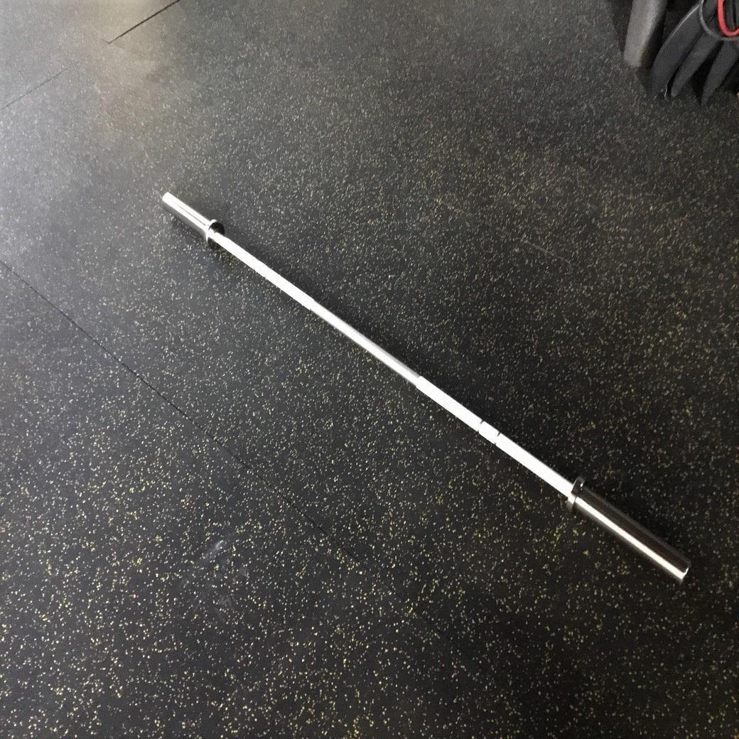女子用トレーニングアルミバーベル 15ポンド 25mm