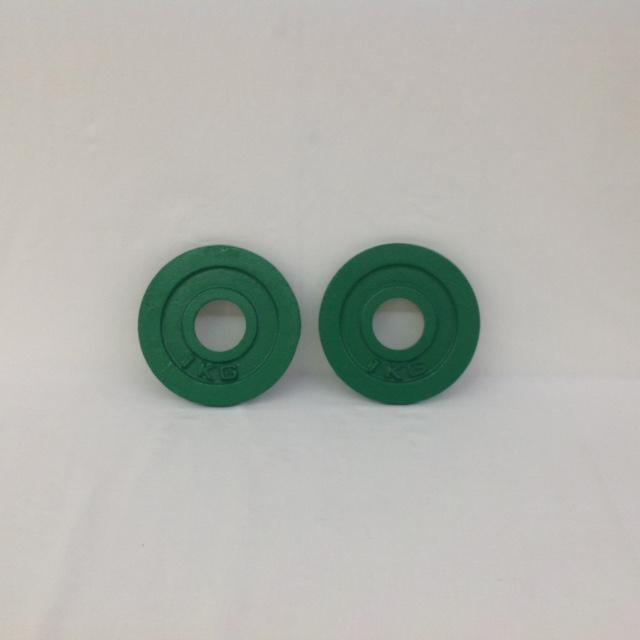 鉄製ミニプレート1kg(2枚セット)