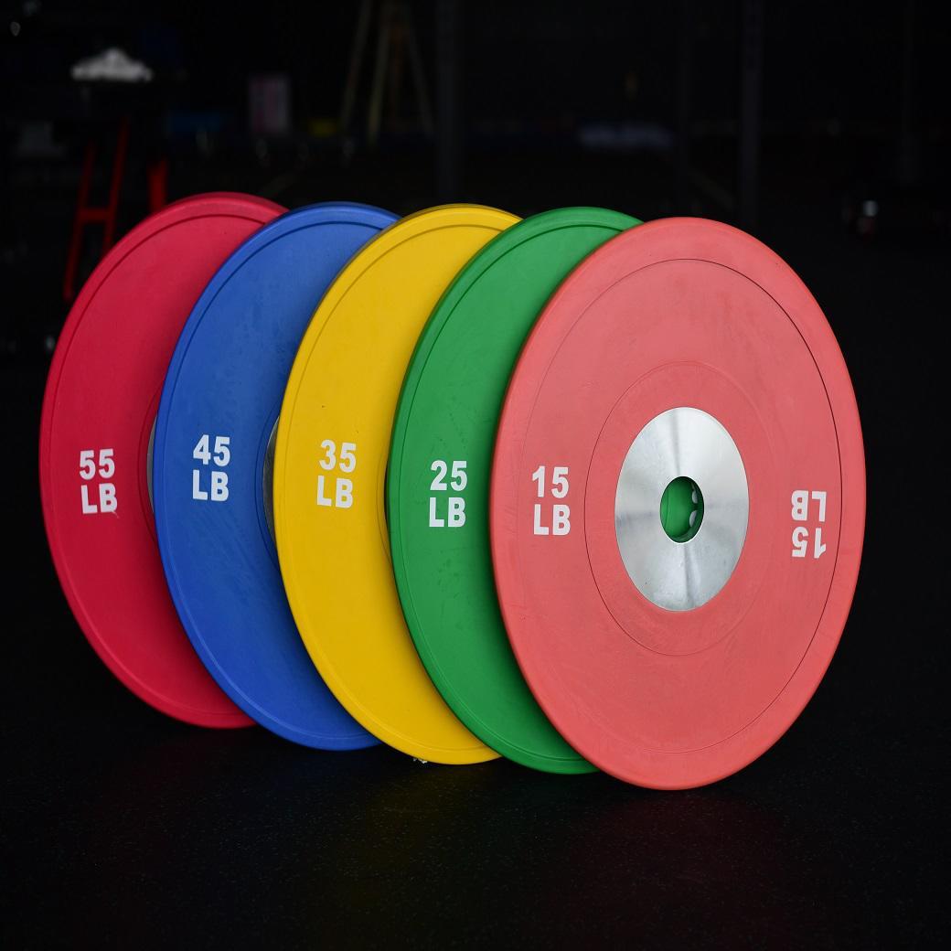 Olympic Bumper Plates 350Lb Set /競技用プレート350ポンドセット